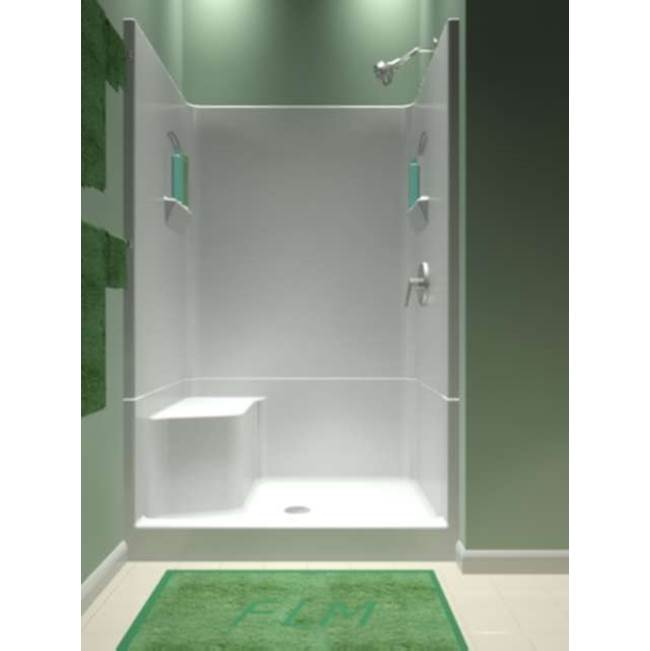 Lovely Diamond Tub And Showers   SRLB4 483677   48u0027u0027 4 Piece Smooth Wall Remodeler  Shower