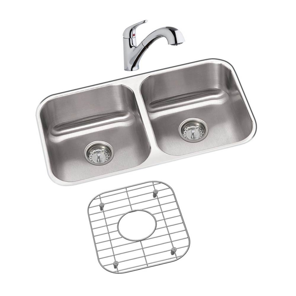 Elkay DXUH3118DFBG at Winthrop Supply Undermount Kitchen Sinks in a on kohler undermount sink kit, sink drain kit, sink undermount installation kit,
