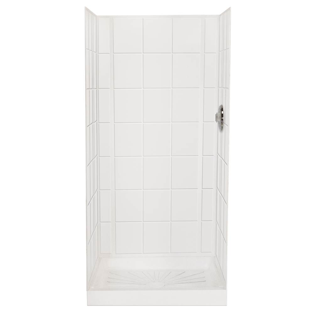 Mustee And Sons 557WHT at Winthrop Supply Single Wall Shower ...